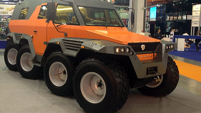 Nástupce modelu X-trim je tu: Avtoros Šaman | Auta do terénu